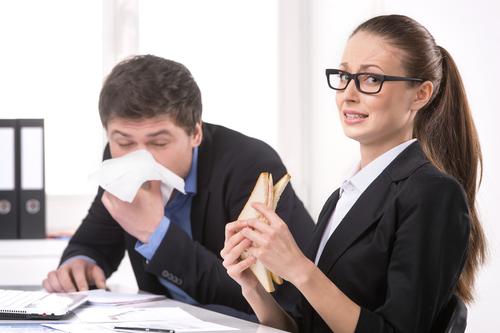 Tipps gegen Erkältung und Grippe im Büro